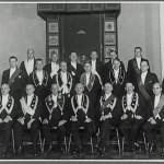 Ämbetsmannainstallation B73 år 1934